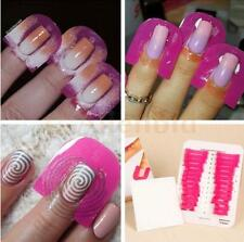 Pro Manicure Finger Nail Art Case Design Tips Cover Polish Shield Protector Mold