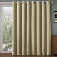 Xmas Gift 1 Panel Window Curtains 100% Blackout Room Thermal Insulated