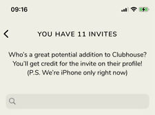 Clubhouse Invite iOS Only App | Instant Delivery