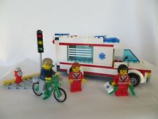 LEGO 4431 Ambulance City Rescue Bicycle Traffic Light 2012 COMPLETE No manual