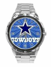 NFL Dallas Cowboys Watch Mens Stainless Steel Fashion
