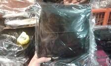 Borsello Piatto in CUOIO Tracolla verticale borsa Artigianale bag man 25x27 L5CM