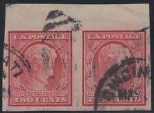 #368 Pair, Used, XF-Gem, SCV $45  (GD 3/5)