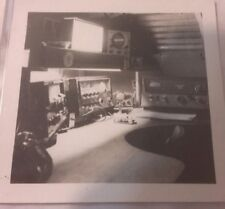 Vintage Old Photo of CB Radios Equipment Station KRLKA Speakers Microphone ++