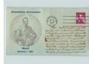 ABRAHAM LINCOLN, President, Signed the EMANCIPATION PROCLAMATION, Slavery Abolis
