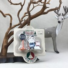 Christmas Valley Vintage 1992 Bus Stop Trim Trends Collectible Accessories
