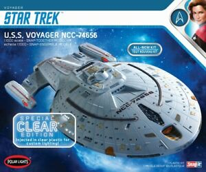 Star Trek U.S.S. Voyager Clear Edition 1:1000 Scale Model Kit PRE-SALE