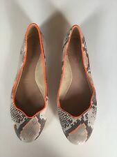 Scarpe di Pelle di Serpente Juicy Couture