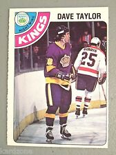DAVE TAYLOR 1978-79 OPC O-PEE-CHEE ROOKIE HOCKEY CARD EX/MT # 353 LA KINGS L@@K