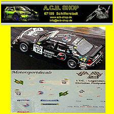 Mercedes Benz C 180 DTM ITC 1996 UPS #12 C.Fittipaldi 1:87 Decal Abziehbild