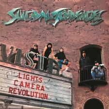 SUICIDAL TENDENCIES LIGHTS CAMERA REVOLUTION LP VINYL 33RPM NEW