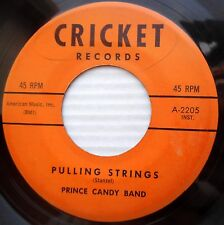 PRINCE CANDY BAND r&b guitar 45 PULLING STRINGS b/w MARIE STANZEL song VG+ dm479