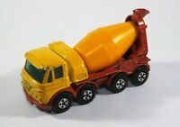 Matchbox Superfast No 21 Foden Concrete Truck Diecast Model B13