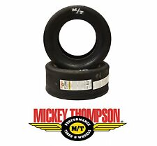 x2 22X8-13 MICKEY THOMPSON ET DRAG SLICK TIRES FOR IMPORT SPORT COMPACT DRAG