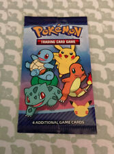 1x Pokemon 25th Anniversary McDonalds Special Promo Sealed Card Pack Free Ship!