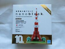 New Nano Block Tokyo Tower Transparent ver. Limited Edition Nbh_001R Japan