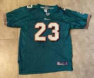 Reebok Miami Dolphins Ronnie Brown #23 Green w/ Orange Jersey Youth XL 18-20