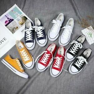 Converse CHUCK TAYLOR All Star Low Unisex Canvas Shoes Sneakers NEW(US Size 7-10