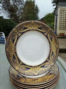 """Royal Worcester HAREWOOD 8"""" salad plate (s): 1sts and unused"""