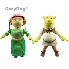 SHREK Princess Fiona & Ogre Shrek Plush Toy Green Monster Figure Pillow Doll New