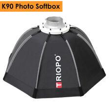 90cm Portable Bowens Mount Octagon Umbrella Softbox + Carrying Bag for Photo