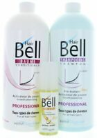 Veana Hairbell Shampooing +Après-shampooing +Booster Sérum Pro comme Hair Jazz +