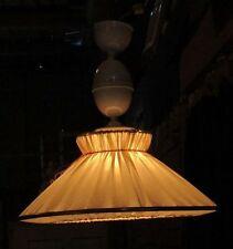 HÄNGELAMPE Deckenlampe mit ZUGVORRICHTUNG um 1925