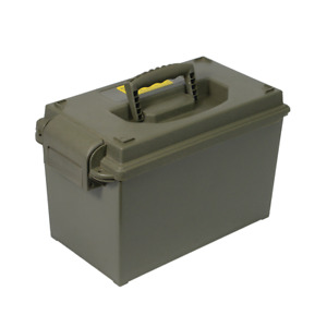Ammo Box 50 Cal Style Injection Moulded Water Resistant Lockable Ammo Tool Box