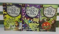 TOO GHOUL FOR SCHOOL KIDS BOOKS X3 B STRANGE A FETE WORSE THAN DEATH SILENT BUT