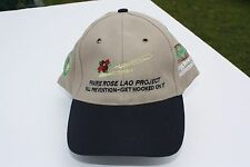 Ball Cap Hat BP Prairie Rose LAO Safety KBR Joffre Alberta Plastic c2000 (H1572)
