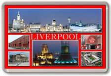 FRIDGE MAGNET - LIVERPOOL - Large - Merseyside TOURIST