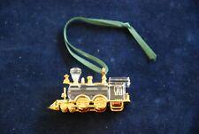 Swarovski Crystal Figurine Locomotive Ornament – Retired – Mib