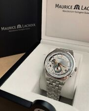 Maurice Lacroix Watch Masterpiece Worldtimer with Box 42mm
