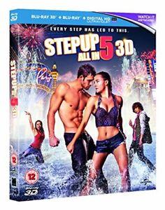 Step Up 5: All In [Blu-ray 3D + Blu-ray] [Region Free] [DVD][Region 2]