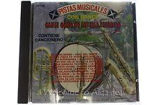 Pistas Musicales Con Banda Cante Como su Artista Favorita CD Phonex