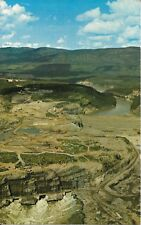 "Portage Mountain Dam, Peace River, B.C., Giant Post Card 8-3/4"" x 5-1/2"""