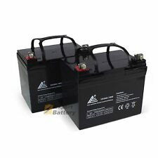 NEW 12V 35AH Wheelchair Scooter Batteries Replaces UB12350 - 2 Pack