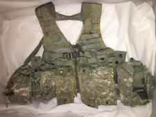 USGI Military Modular Lightweight Load-Carrying Equip FLC ACU with pouches