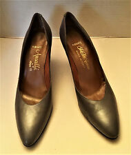 Amalfi shoes by Rangoni Radiante size 7 AAA Gray Heels Sakes Fifth Avenue
