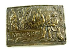 Capt. Hawks Sky Patrol Panama Red Belt Buckle 10312013