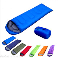 Adult Single Sleeping Bag 3 Season Camping Travel  Outdoor Cotton  Envelope -z