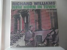 RICHARD WILLIAMS - NEW HORN IN TOWN - CANDID/BASRNABY RECORDS-BR-5014 - NEW