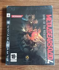 METAL GEAR SOLID 4 GUNS OF THE PATRIOTS Jeu PS3 Playstation 3 Neuf Blister VF