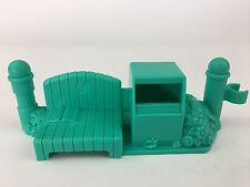 Fisher Price Little People Neighborhood Vehicle Bench Trashcan Mailbox Fence Pc