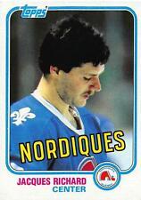 (HCW) 1981-82 Topps #29 Jacques Richard NM-MT Nordiques