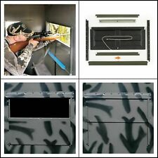 Silent Shadow Gun Window Kit Wall Hunting Hard Sided Blinds Accessory Pack of 2
