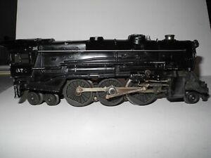 LIONEL O GAUGE 675 LOCOMOTIVE & MATCHING TENDER 1952 KOREAN WAR EXCELLENT