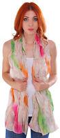 Fashion Ladies Women Silk Like Scarf Soft Long Summer Scarves Wrap Shawl