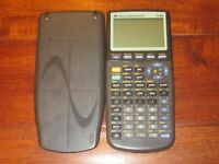 Texas Instruments TI-83 Graphing Calculator W/ HARD CASE GREAT COND.