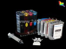 CISS 540ml Tinta HP Designjet 111 CH565A Nº 82 Negro C4836 C4838 C4837 11 C Y M